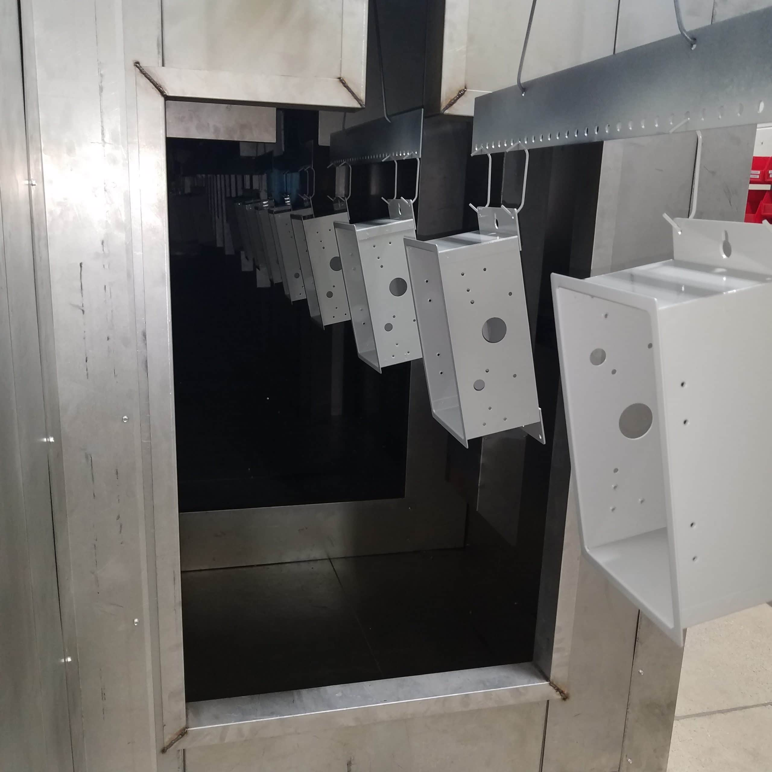 Powder Coating - Automated drying